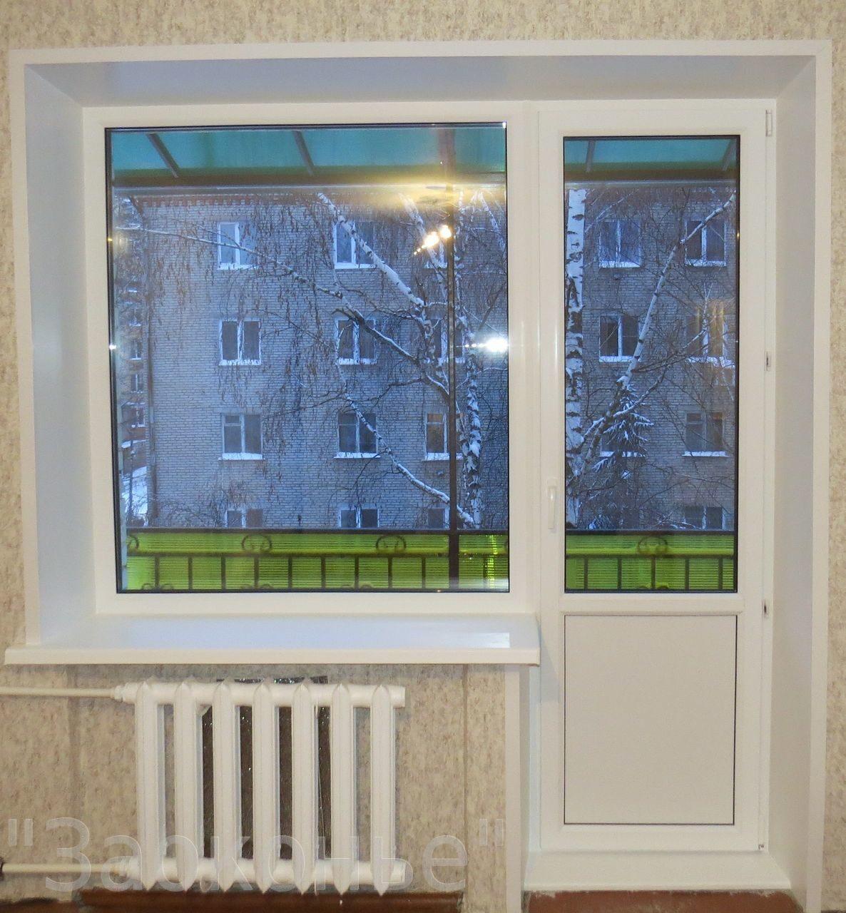 Пластиковые окна балконы и лоджии с отделкой объявление в ра.